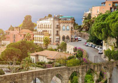 Sycylijskie zabudowania