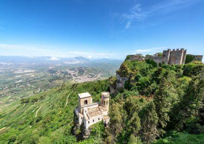 Panorama gór sycylijskich