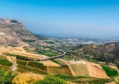 Sceneria Sycylii w pełnej okazałości