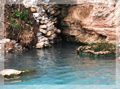 wizyta w naturalnych gorących źródłach Segestane