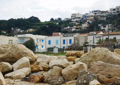 Kamienie znajdujące się na plaży