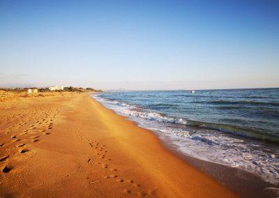 Oddalona plaża