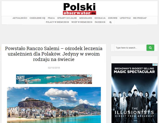 ranczo salemi publikacja polacy we włoszech