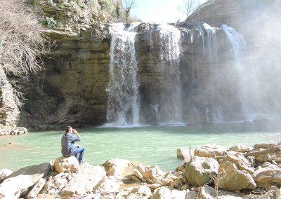Kamienisty wodospad