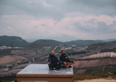 Medytacja na dachu