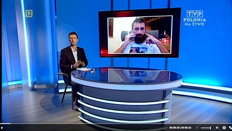 tvp polonia wywiad z Pawłem Durakiewiczem właścicielem Ośrodka Leczenia Uzależnień Ranczo Salemi
