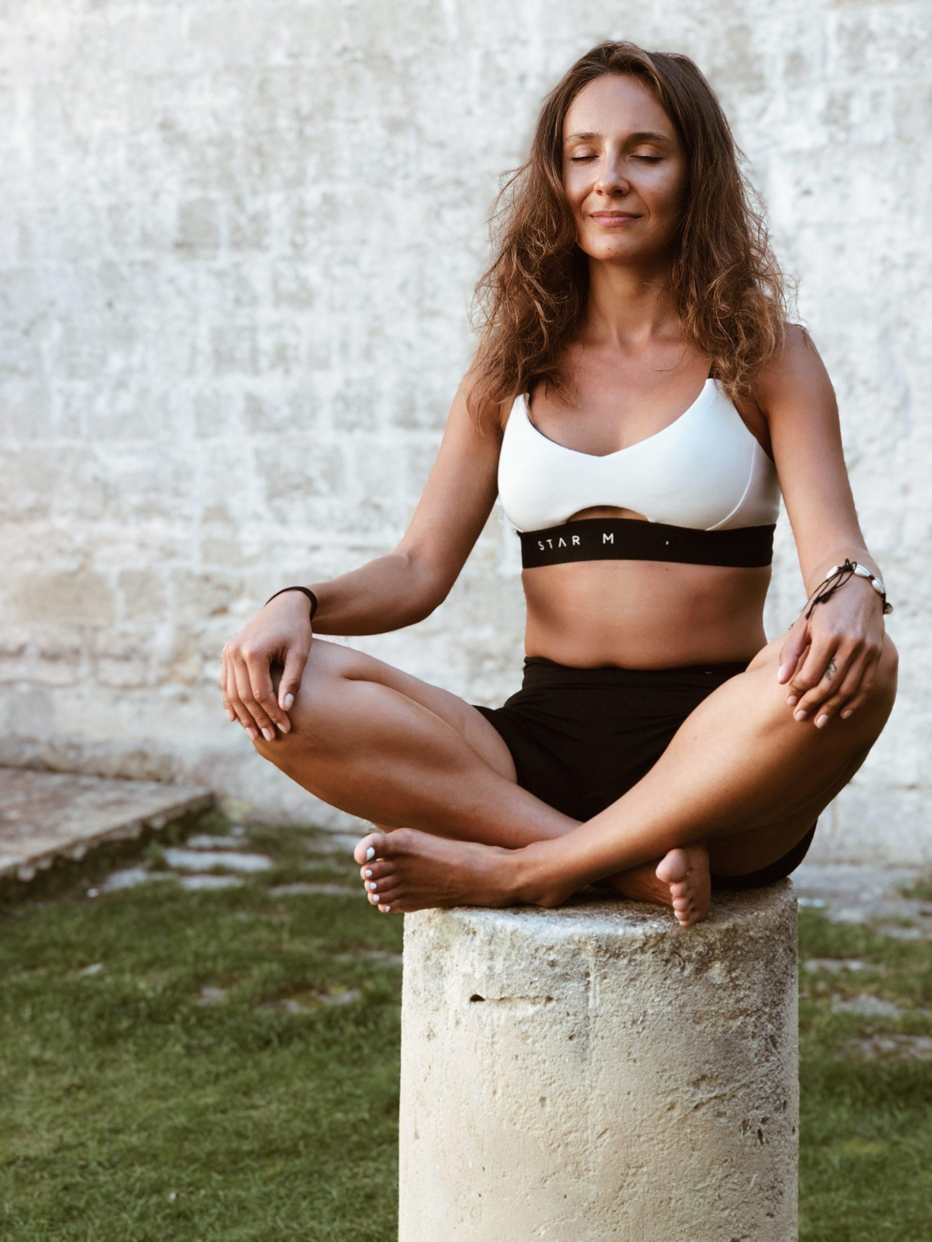 instruktorka jogi Ośrodka leczenia uzależnień Aleksandra Dul